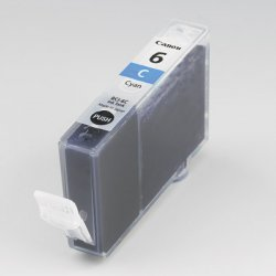 Canon - 4706A003 - Canon CNMBCI6C Original Ink Cartridge - Inkjet - 370 Pages - Cyan - 1 Each