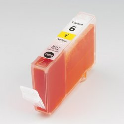 Canon - BCI-6Y - Canon BCI-6Y Original Ink Cartridge - Yellow - Inkjet
