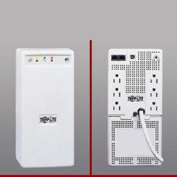 Tripp Lite - BCPRO600 - Tripp Lite UPS 600VA 345W Desktop Battery Back Up Tower 120V USB PC / Mac - 600 VA/345 W - 120 V AC - 7 Minute - Tower - 7 Minute - 6 x NEMA 5-15R
