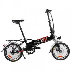 QFX - BIK-20 BLK - UnfoldnGo Elec Mountan Bike BK