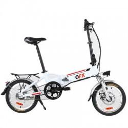 QFX - BIK-20 WHT - UnfoldnGo Elec Mountan Bike WH