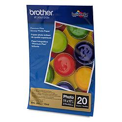 Brother International - BP71GLGR - Brother Photo Paper - 11 x 17 - Glossy