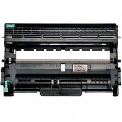 Brother International - DR420 - Brother Genuine DR420 Mono Laser Drum Unit - 1 Each - Monochrome Laser - Black