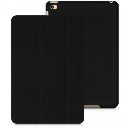 MacAlly / Mace Group - BStandM4B - Macally Carrying Case (Folio) for iPad mini 4 - Black - Scratch Resistant Interior - Polyurethane