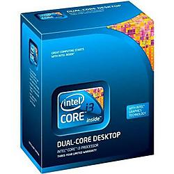Intel - BX80616I3540 - Intel Core i3 i3-540 Dual-core (2 Core) 3.06 GHz Processor - Socket H LGA-1156 - 1 x Retail Pack - 512 KB - 4 MB Cache - 64-bit Processing - 32 nm - 73 W - 162.7 F (72.6 C)
