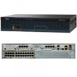Cisco - C2921-VSEC/K9 - Cisco 2921 Integrated Services Router - 1 x SFP (mini-GBIC), 4 x HWIC, 3 x PVDM, 2 x CompactFlash (CF) Card, 2 x Services Module - 3 x 10/100/1000Base-T WAN