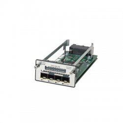 Cisco - C3KX-NM-10G - Cisco C3KX-NM-10G Network Module - 2 x SFP+ , 2 x SFP 10 Gbit/s - 4 x Expansion Slots