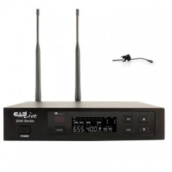 CAD Audio - CADLive 3010S - CAD Audio CADLive WX3010 Wireless Microphone System - 655 MHz to 679 MHz Operating Frequency - 40 Hz to 15 kHz Frequency Response