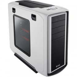 Corsair - CC600TWM-WHT - Corsair Graphite 600T White Chassis - Mid-tower - White - Steel, Plastic - 10 x Bay - 3 x Fan