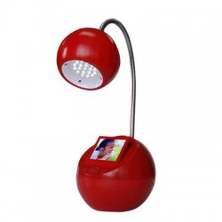 "Sungale Group - CD352LD-RD - LED Lamp with 3.5"" Digital Pho"