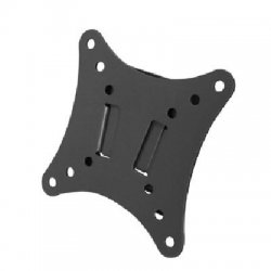 SIIG - CE-MT0012-S1 - SIIG CE-MT0012-S1 Fixed LCD TV/Monitor Wall Mount Bracket - Steel - 33 lb - Black