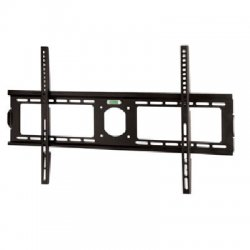 SIIG - CE-MT0612-S1 - SIIG Low Profile Universal Fixed LCD/Plasma TV Wall Mount - 165 lb - Black