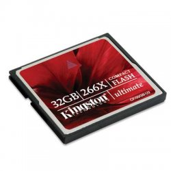 Kingston - CF/32GB-U2 - Kingston 32GB Ultimate CompactFlash (CF) Card - 32 GB