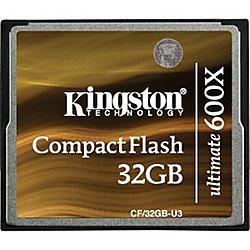 Kingston - CF/32GB-U3 - Kingston Ultimate CF/32GB-U3 32 GB CompactFlash - 1 Card