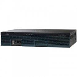 Cisco - CISCO2921-SEC/K9 - Cisco 2921 Integrated Services Router - 1 x SFP (mini-GBIC), 2 x CompactFlash (CF) Card, 4 x HWIC, 2 x Services Module, 3 x PVDM - 3 x 10/100/1000Base-T WAN