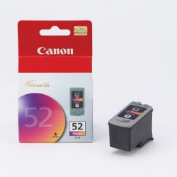 Canon - 0619B002 - Canon CL-52 Photo Ink Cartridge - Inkjet - 1 Each