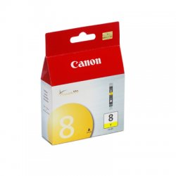 Canon - 0623B002 - Canon CLI-8Y Ink Cartridge - Inkjet - 1 Each