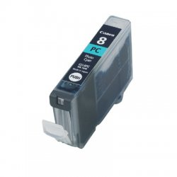 Canon - CLI-8PC - Canon CLI-8PC Photo Cyan Ink Cartridge - Cyan - Inkjet
