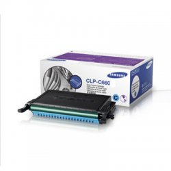 Samsung - CLP-C660B - Samsung CLP-C660B Original Toner Cartridge - Laser - 5000 Pages - Cyan - 1 Each