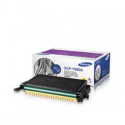 Samsung - CLP-Y660A - Samsung CLP-Y660A Original Toner Cartridge - Laser - 2000 Pages - Yellow - 1 Each