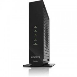 Belkin - CM3024 - Linksys CM3024 DOCSIS 3.0 Cable Modem (24x8 Bonded Channels) - 1 x Network (RJ-45) - F-type - Gigabit Ethernet - Desktop