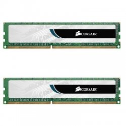 Corsair - CMV4GX3M2A1333C9 - Corsair Value Select 4GB DDR3 SDRAM Memory Module - 4 GB (2 x 2 GB) - DDR3 SDRAM - 1333 MHz DDR3-1333/PC3-10600 - Non-ECC - Unbuffered - 240-pin - DIMM