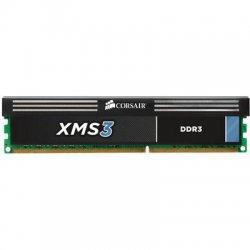 Corsair - CMX4GX3M1A1333C9 - Corsair XMS CMX4GX3M1A1333C9 4GB DDR3 SDRAM Memory Module - 4 GB (1 x 4 GB) - DDR3 SDRAM - 1333 MHz DDR3-1333/PC3-10600 - 240-pin - DIMM