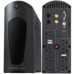 CyberPower - CP1200AVR - CyberPower AVR CP1200AVR 1200VA UPS - 1200VA/720W - 12 Minute Half Load - 4 x NEMA 5-15R - Battery/Surge-protected, 4 x NEMA 5-15R - Surge-protected