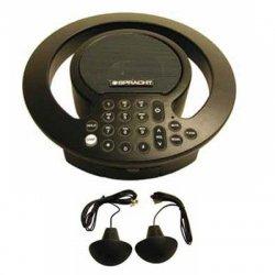 Spracht - CP2018 - Spracht Aura SoHo Plus Conference Phone - Black - Corded - 1 x Phone Line - Speakerphone