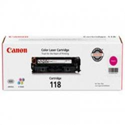 Canon - 2660B001AA - Canon 118 Toner Cartridge - Laser - Magenta