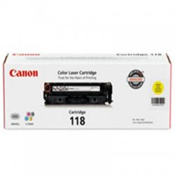 Canon - 2659B001AA - Canon 118 Toner Cartridge - Laser - Yellow