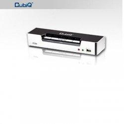 Aten Technologies - CS1794 - Aten CubiQ CS1794 KVM Switch - 4 x 1 - 4 x Type B USB, 4 x HDMI Digital Audio/Video, 4 x Mini-phone Audio, 4 x Mini-phone Microphone