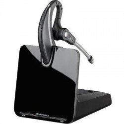 Plantronics - 86305-01 - Plantronics CS530 Earset - Mono - Black - Wireless - DECT - 350 ft - Over-the-ear - Monaural - Open - Noise Cancelling Microphone