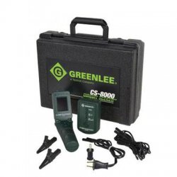 Greenlee / Textron - CS8000 - Greenlee Electric Monitor - Open Circuit Testing, Short Circuit Testing - 2Number of Batteries Supported
