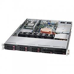 Supermicro - CSE-113TQ-R650UB - Supermicro SC113TQ-R650UB Chassis - 1U - Rack-mountable - 8 Bays - 650W - Black