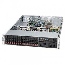 Supermicro - CSE-213A-R900UB - Supermicro SC213A-R900UB Chassis - 2U - Rack-mountable - 17 Bays - 900W - Black