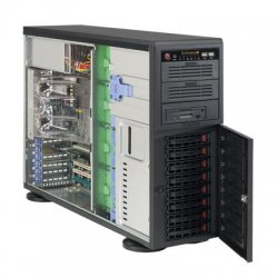 Supermicro - CSE-743TQ-865B - Supermicro SC743TQ-865B Chassis - Rack-mountable - Black