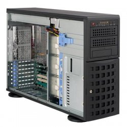 Supermicro - CSE-745TQ-800B - Supermicro SC745TQ-800B Chassis - Rack-mountable, Tower - Black