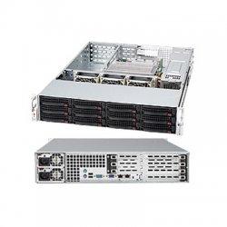 Supermicro - CSE-826TQ-R800UB - Supermicro SC826TQ-R800UB Chassis - Rack-mountable - Black