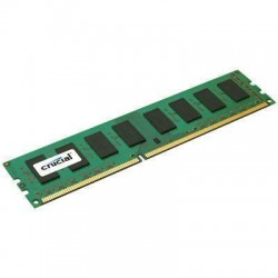 Crucial Technology - CT102472BA186D - Crucial 8GB (1 x 8 GB) DDR3 SDRAM Memory Module - 8 GB (1 x 8 GB) - DDR3 SDRAM - 1866 MHz DDR3-1866/PC3-14900 - 1.50 V - ECC - Unbuffered - 240-pin - DIMM