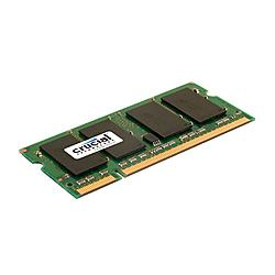 Crucial Technology - CT12864AC667 - Crucial 1GB DDR2 SDRAM Memory Module - 1GB - 667MHz DDR2-667/PC2-5300 - Non-ECC - DDR2 SDRAM - 200-pin
