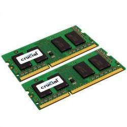Crucial Technology - CT2K8G3S160BM - Crucial 16GB (2 x 8 GB) DDR3 SDRAM Memory Module - 16 GB (2 x 8 GB) - DDR3 SDRAM - 1600 MHz DDR3-1600/PC3-12800 - 1.35 V - Non-ECC - Unbuffered - 204-pin - SoDIMM