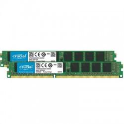 Crucial Technology - CT2K8G4WFS824A - Crucial 16GB (2 x 8 GB) DDR4 SDRAM Memory Module - 16 GB (2 x 8 GB) - DDR4 SDRAM - 2400 MHz DDR4-2400/PC4-19200 - 1.20 V - ECC - Unbuffered - 288-pin - DIMM