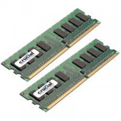 Crucial Technology - CT2KIT25664AA800 - Crucial 4GB DDR2 SDRAM Memory Module - 4GB (2 x 2GB) - 800MHz DDR2-800/PC2-6400 - Non-ECC - DDR2 SDRAM - 240-pin DIMM
