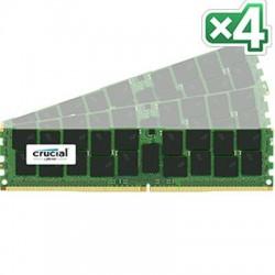 Crucial Technology - CT4K16G4RFD4213 - Crucial 64GB (4 x 16 GB) DDR4 SDRAM Memory Module - 64 GB (4 x 16 GB) - DDR4 SDRAM - 2133 MHz DDR4-2133/PC4-17000 - 1.20 V - ECC - Registered - 288-pin - DIMM