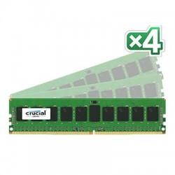 Crucial Technology - CT4K8G4RFS4213 - Crucial 32GB (4 x 8 GB) DDR4 SDRAM Memory Module - 32 GB (4 x 8 GB) - DDR4 SDRAM - 2133 MHz DDR4-2133/PC4-17000 - 1.20 V - ECC - Registered - 288-pin - DIMM