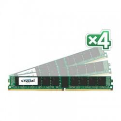 Crucial Technology - CT4K8G4VFS4213 - Crucial 32GB (4 x 8 GB) DDR4 SDRAM Memory Module - 32 GB (4 x 8 GB) - DDR4 SDRAM - 2133 MHz DDR4-2133/PC4-17000 - 1.20 V - ECC - Registered - 288-pin - DIMM