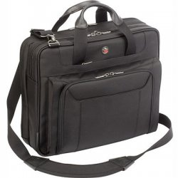 "Targus - CUCT02UA15S - Targus Zip-Thru Corporate Traveler Notebook Case - 15.4"" Screen Support - Ballistic Nylon - Black"