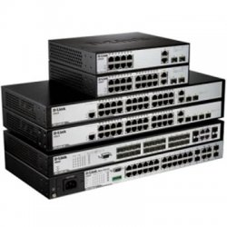 D-Link - DES-3200-28P - D-Link xStack DES-3200-28P Ethernet Switch - 24 Network, 2 Network, 4 Expansion Slot - Manageable - Twisted Pair, Optical Fiber - 2 Layer Supported - Desktop, Rack-mountable