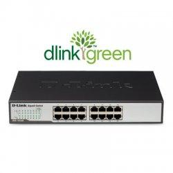 D-Link - DGS-1016D - D-Link DGS-1016D 16-Port Gigabit Unmanaged Metal Desktop or Rackmount Switch - 16-Port Gigabit Unmanaged Metal Desktop or Rackmount Switch